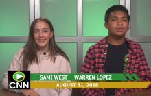 Canyon News Network, 8-31-18 | New Teachers Segment