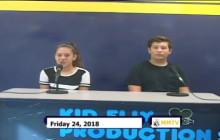 Miner Morning TV, 8-24-18