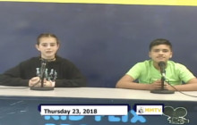 Miner Morning TV, 8-23-18