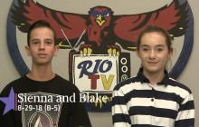Rio TV, 8-30-18
