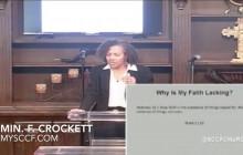 SCCF: Minister Crockett