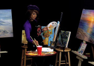 Painting Van Gogh with Gloria