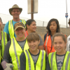 One Piece At A Time: Castaic Residents Spend Labor Day Cleaning Up Neighborhood