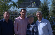 City Commemorates Removal of Large Billboard on Future Canyon Country Community Center Site