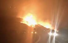 Caltrans News Flash: Caltrans Responds to State's Largest Ever Wildfire