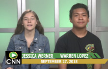 Canyon News Network, 9-27-18 | Suicide Prevention Month