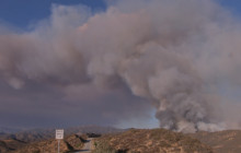 Vegetation Fire in Castaic Grows Rapidly, Zero Containment