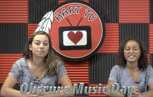 Hart TV, 9-17-18 | Obscure Music Day