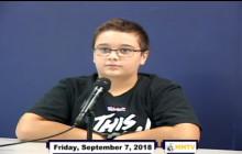 Miner Morning TV, 9-7-18