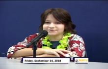 Miner Morning TV, 9-14-18
