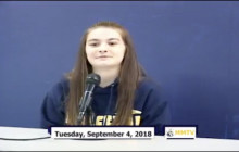 Miner Morning TV, 9-4-18