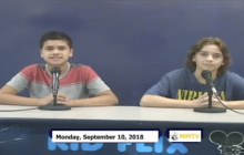 Miner Morning TV, 9-10-18