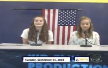 Miner Morning TV, 9-11-18