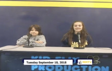 Miner Morning TV, 9-18-18