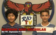 Rio TV, 9-5-18