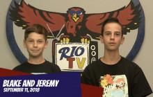 Rio TV, 9-11-18