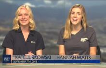 West Ranch TV, 9-7-18 | Sports Spotlight, Homecoming