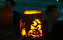 Aquatic Center Hosts Annual Underwater Pumpkin Carving Contest
