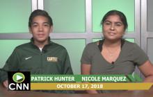 Canyon News Network, 10-17-18   College News