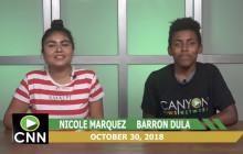 Canyon News Network, 10-30-18 | Halloween Dress Code