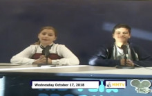 Miner Morning TV, 10-17-18