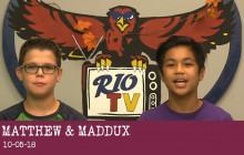 Rio TV, 10-5-18
