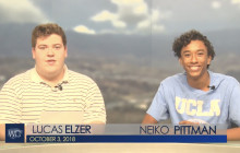 West Ranch TV, 10-3-18 | Cable vs. Streaming
