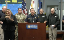 Emergency Officials Provide Wildfire Update at State Operations Center – November 11, 2018