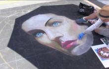 Santa Clarita Chalk Art Festival, Summer Shakespeare Festival, Gourd Artist Nadiya Littlewarrior
