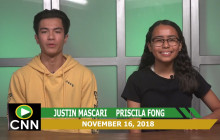 Canyon News Network, 11-16-18 | Thirst Project PSA