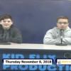 Miner Morning TV, 11-8-18