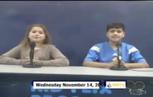 Miner Morning TV, 11-14-18