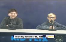 Miner Morning TV, 11-15-18
