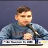 Miner Morning TV, 11-16-18