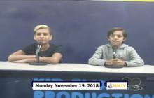 Miner Morning TV, 11-19-18