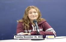 Miner Morning TV, 11-20-18
