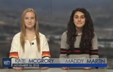 West Ranch TV, 11-26-18 | Club News