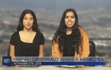 West Ranch TV, 11-27-18 | Cross Country LTT