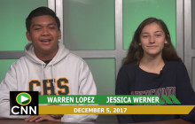 Canyon News Network, 12-5-18 | Sports and Sweaters
