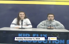 Miner Morning TV, 12-4-18