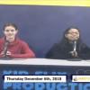 Miner Morning TV, 12-6-18