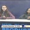 Miner Morning TV, 12-13-18