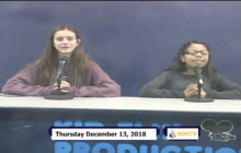 Miner Morning TV, 12-13-18