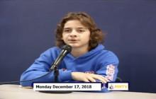 Miner Morning TV, 12-17-18