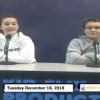 Miner Morning TV, 12-18-18