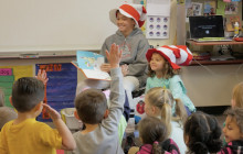 Local Elementary School Looking to Break 'Most People Wearing Dr. Seuss Costume' World Record
