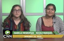 Canyon News Network, 1-23-19 | College & Club News
