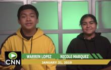 Canyon News Network, 1-31-19 | Club News