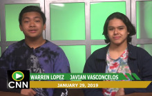 Canyon News Network, 1-29-19 | Student Spotlight