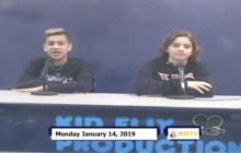 Miner Morning TV, 1-14-19